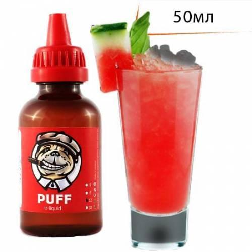 Жидкость PUFF 50 мл с ароматом Арбузный Поцелуй/Watermelon Kiss