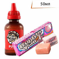 Рідина PUFF 50 мл з ароматом Бабл Гам/Bubble Gum