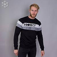 Мужской теплый свитшот Teamv Protect 3 Черный M