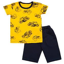 Комплект летний для мальчика шорты и футболка оп