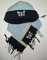 Шапочка и шарфик флис Rucanor Yomoose 14666-03 Руканор