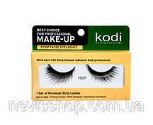 Ресницы накладные Kodi Professional № 1007 на ленте, черные