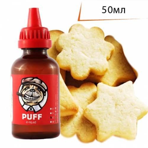Жидкость PUFF 50 мл с ароматом Банановое Печенье/Banana Cookies