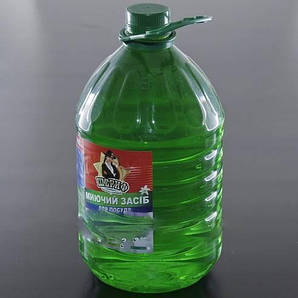 Моющее средство для посуды 5 л Лимон жидкость ШЕРИФ