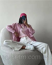 Коттоновая сорочка жіноча на гудзиках