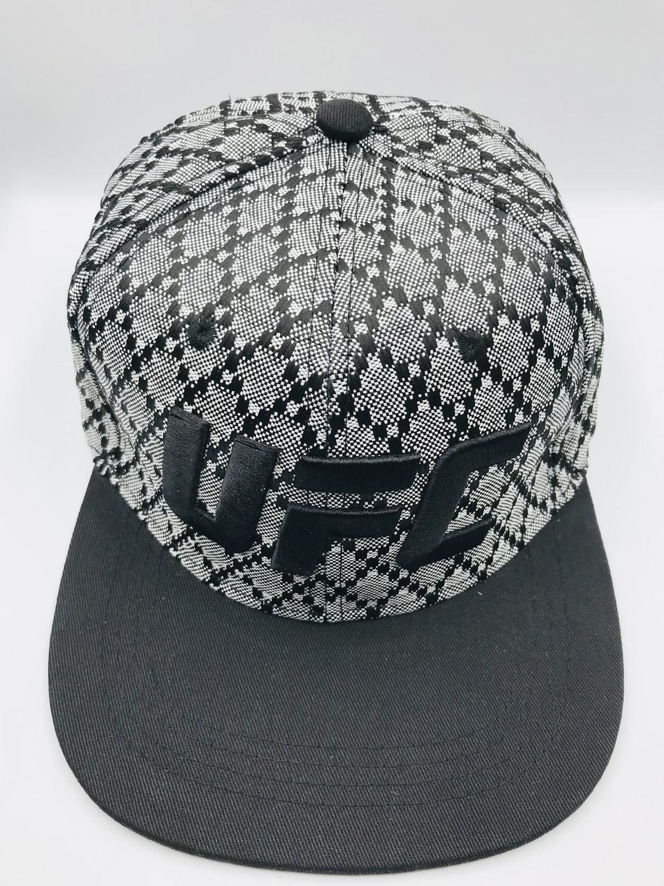 Мужская кепка UFC серо-черная