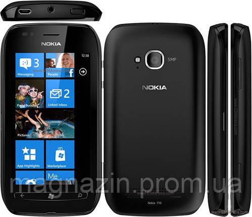 Чехол Nokia 710. Яркий перфорированный чехол накладка., фото 2