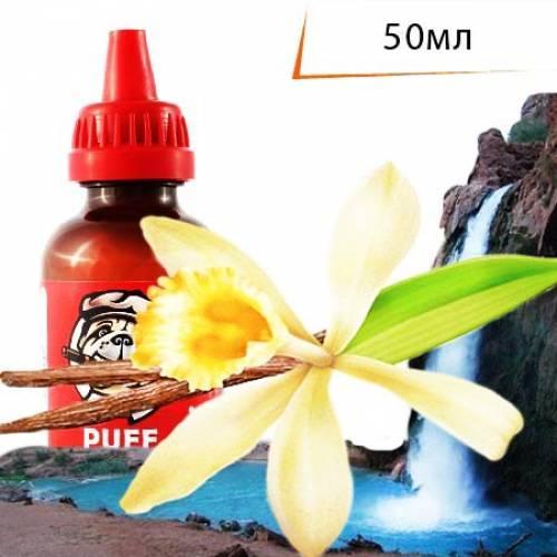 Жидкость PUFF 50 мл с ароматом Ванильный Водопад/Vanilla Waterfall