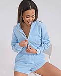 Спортивный костюм женский с кофтой и шортами, фото 5