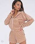 Спортивний костюм жіночий з кофтою і шортами, фото 2