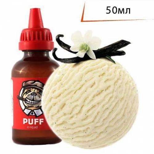 Жидкость PUFF 50 мл с ароматом Ванильный Десерт/Vanilla Dessert