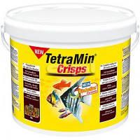 Корм для аквариумных рыб Tetra MIN Crisps 10 л / 2 кг чипсы основной корм для всех видов рыб