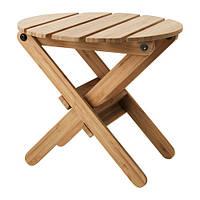 """IKEA """"ВИЛЬДАПЕЛЬ"""" Пьедестал для цветов, бамбук"""