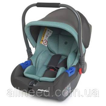 Детское автокресло-переноска. Бебикокон ME 1043 Мятный цвет