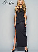 Платье в пол с разрезом | Элегантность sk