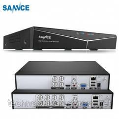 Система видеонаблюдения SANNCE, 4 канала, 1080P HD, 4 IP-камеры 2 м