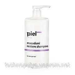Bідновлюючий шампунь для пошкодженого волосся Piel Cosmetics Macadami Restore Shampoo 1 л