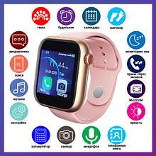 Смарт годинник Розумні годинник Smart Watch Z6S з сенсорним екраном і пульсометром + ПОДАРУНОК