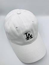 Женская бейсболка Los Angeles Белая с черным логотипом