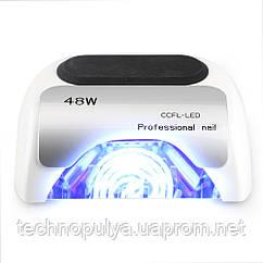 Гибридная ультрафиолетовая LED лампас таймером светодиодная UV Lamp 48 Вт сушилка для маникюра и педикюра