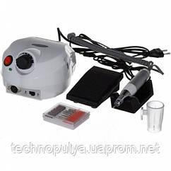 Фрезер машинка для маникюра и педикюра с реверсом 35000 оборотов 30 Вт Nail Drill DM-202 Белый