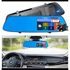 Автомобильный видеорегистратор-зеркало с камерой заднего вида 1080P Full HD L1001C