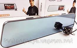 Відеореєстратор DVR A29 PRO дзеркало заднього виду з двома камерами сенсорний Екран 4,3 touchscreen HD1080