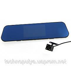 Відеореєстратор DVR FULL HD 1080p A1+ дзеркало-відеореєстратор заднього виду з камерою заднього ходу