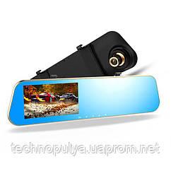 Відеореєстратор DVR FULL HD 1080p DV460 дзеркало-відеореєстратор заднього виду з камерою заднього ходу