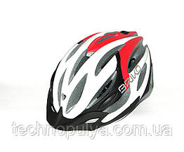 Велошлем Briko SHIRE Wh-Blk-Red M