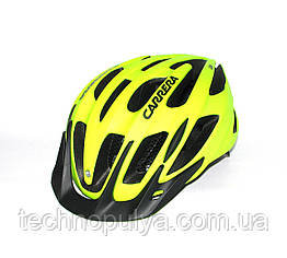 Велошлем CARRERA SF9 Shake Green Fluo s.54-57