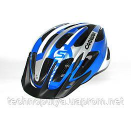 Велошлем CARRERA SF9 Shake Blue-Wh s.54-57