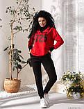 Костюм спортивный женский турецкая двунить   р 42-44, 46-48, 50-52, фото 7
