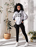 Костюм спортивный женский турецкая двунить   р 42-44, 46-48, 50-52, фото 3