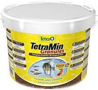 Корм для аквариумных рыб Tetra MIN Granules 10 л / 4,2 кг гранулы основной корм для всех видов рыб