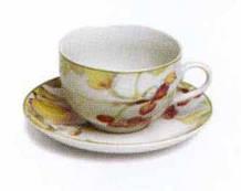 Набор чашек с блюдцами для чая