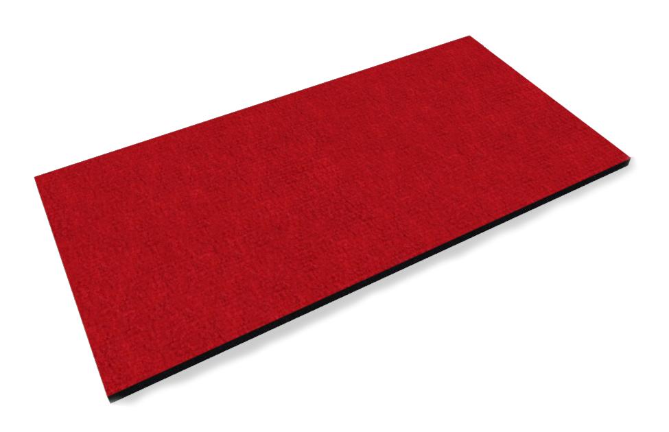 Мат ковровый на резиновой основе PuzzleGym 1000x500x15 мм