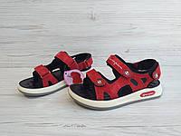 Красные Сандалии босоножки для мальчика размеры 26-37