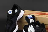 Чоловічі кросівки New Balance 327 в стилі нью беланс Чорні/Білі (Репліка ААА+), фото 7