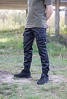Штаны карго / джоггеры чёрные. Полиция