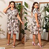 Плаття літнє великого розміру Україна Розміри: 48-50, 52-54, 56-58, фото 6