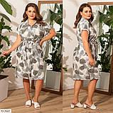 Плаття літнє великого розміру Україна Розміри: 48-50, 52-54, 56-58, фото 3