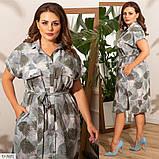 Плаття літнє великого розміру Україна Розміри: 48-50, 52-54, 56-58, фото 4