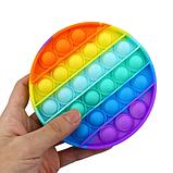 """Сенсорная игрушка антистресс Pop It Поп Ит Пупырышки антистресс, тыкалка """" Нажми пузырь"""" любая форма, фото 4"""