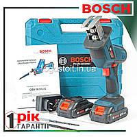 Аккумуляторная сабельная пила Bosch GSA 18 V-LI C PROFESSIONAL. Электрическая пила (аккумуляторная пила Бош)