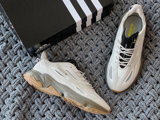 Чоловічі кросівки Adidas Ozweego Celox в стилі Адідас Озвиго СІРІ (Репліка ААА+)
