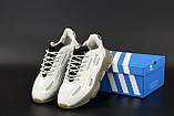 Чоловічі кросівки Adidas Ozweego Celox в стилі Адідас Озвиго СІРІ (Репліка ААА+), фото 4