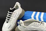Мужские кроссовки Adidas Ozweego Celox в стиле Адидас Озвиго СЕРЫЕ (Реплика ААА+), фото 7