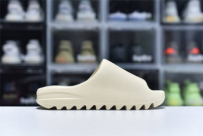 Женские шлёпки Adidas Yeezy Slide Bone FW6345 Тапочки Изи Слайд Боне Размер