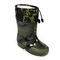 "Гумові чоботи дитячі Verona ""Зелена берізка"", фото 1"